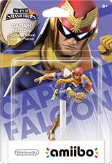 Amiibo Smash Captain Falcon
