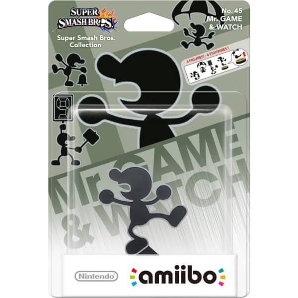 Amiibo Mr. Game & Watch