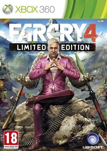 Far Cry 4 Limited Edition (English Import) PAL