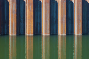 Lea navigation canal abstract photography reflections art