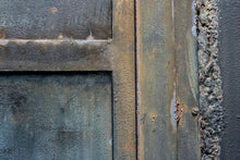 Load image into Gallery viewer, blue metal door abstract photography art