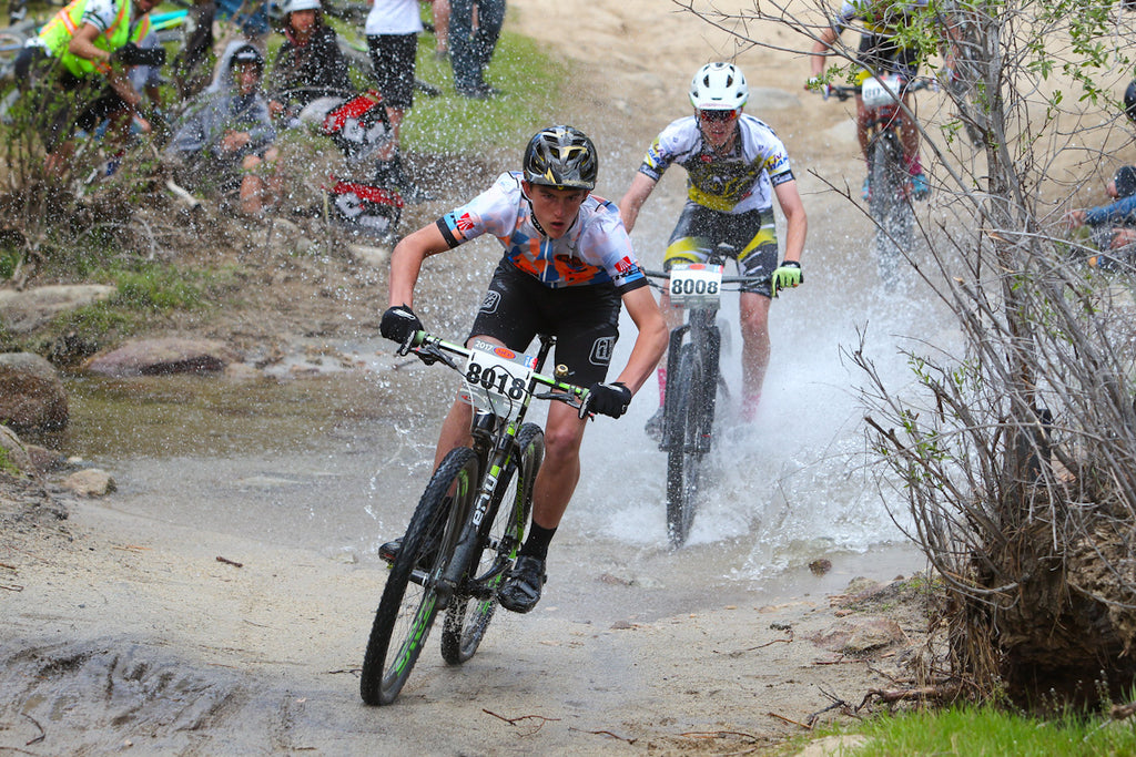NICA mountain bike race