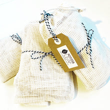 Load image into Gallery viewer, Organic Cotton Produce Bag - Set of 3