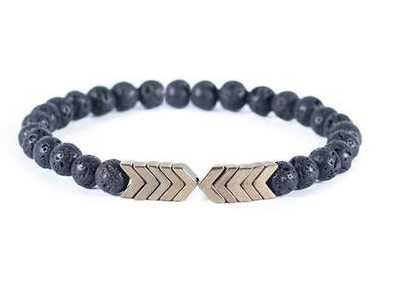 Lava Arrow Bracelet