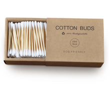Load image into Gallery viewer, Bamboo Cotton Buds 200