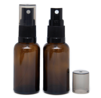 Amber Glass Spray Bottle 50ml
