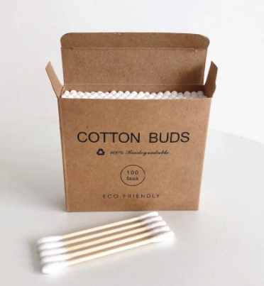Bamboo Cotton Buds 100