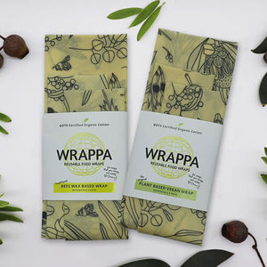 Beeswax Food Wraps ~ 3 Pack