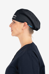 Your Logo... Printed Elastic Back Scrub Cap