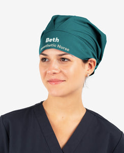 Bouffant Printed Personalised Scrub Cap