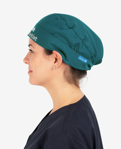Printed Personalised Ribbon Back Scrub Cap