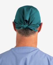 Load image into Gallery viewer, Printed Personalised Tie Back Scrub Cap