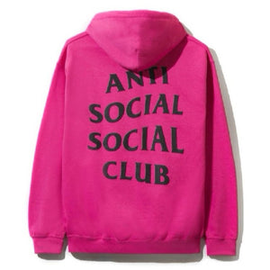 "Anti Social Social Club ""Flamingo Hoodie"" (Hot Pink)"