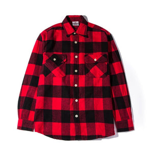 "Anti Social Social Club ""No Expectations Flannel"" (Red)"