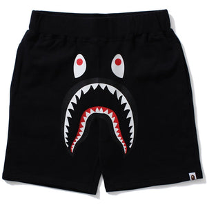 "BAPE ""Solid Shark"" Sweat Shorts (Black)"