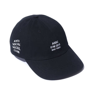 "Anti Social Social Club ""Bad Times"" Hat - Black"