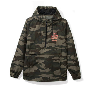 Anti Social Social Club Mak Anorak Camo Windbreaker