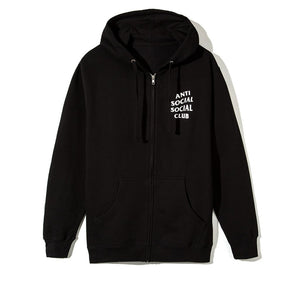 "Anti Social Social Club ""Mind Games"" Zip Up Hoodie (Black)"