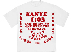 "Kanye West x Cactus Plant Flea Market ""For JIK III Tee"" (White)"