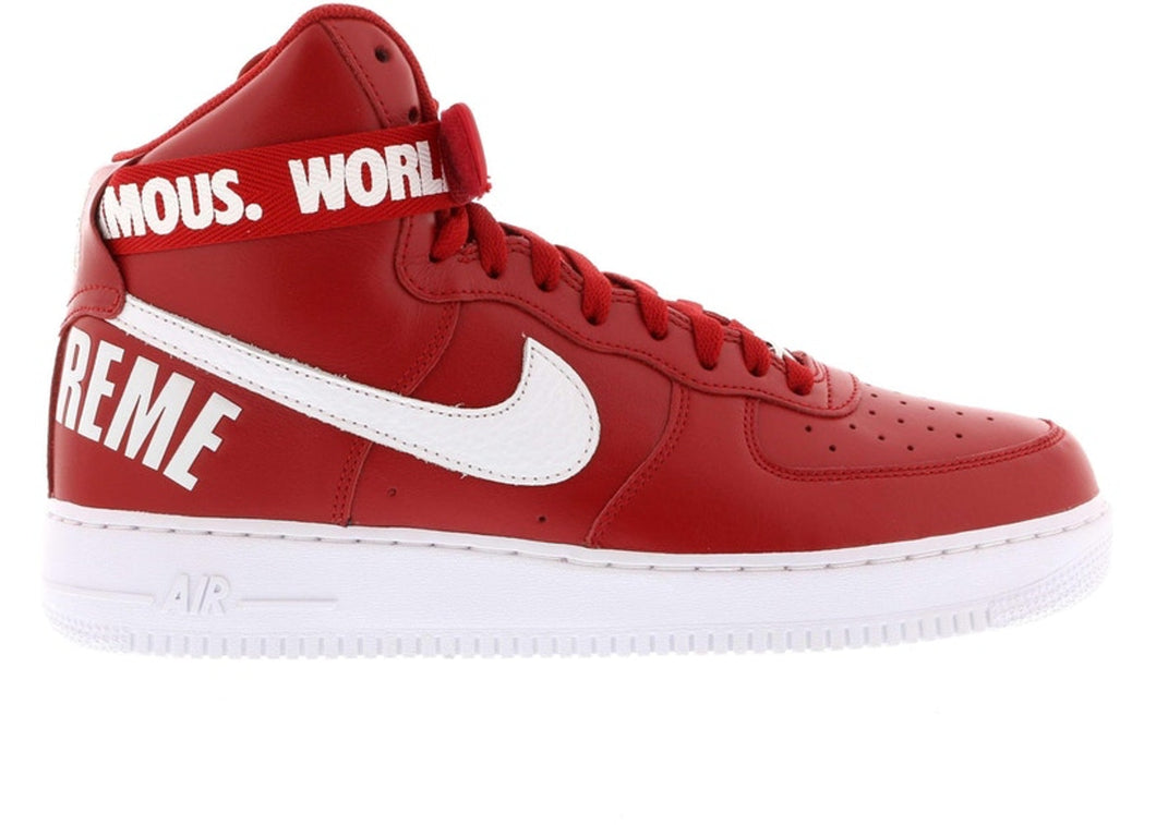 Air Force 1 High Supreme SP (Red)