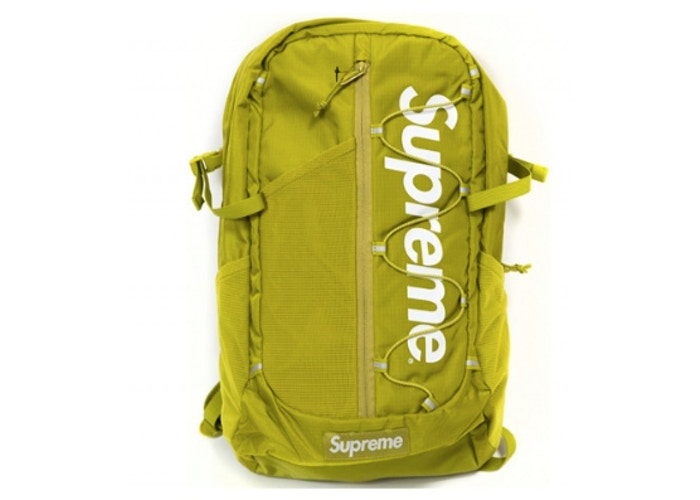 Supreme Backpack SS17 (Acid Green)