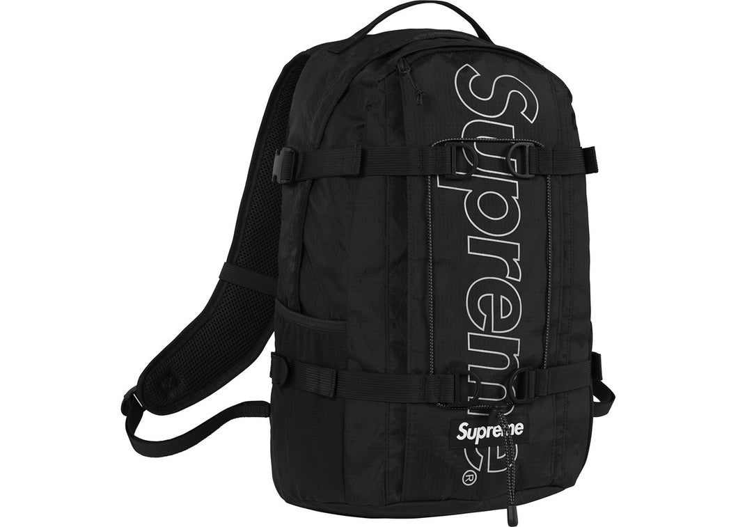 Supreme Backpack (FW18) (Black)