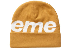 "Supreme ""Big Logo Beanie"" (Dark Gold)"