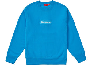 "Supreme ""Box Logo Crewneck"" FW18 (Bright Royal) -Used"