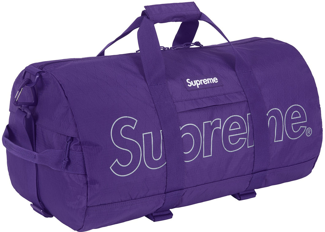 Supreme Duffle Bag (FW18) (Purple)