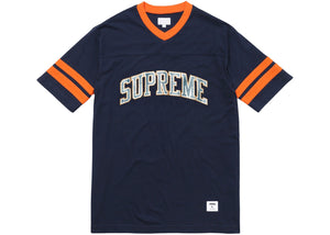 "Supreme ""Glitter Arc Football"" Top (Navy)"
