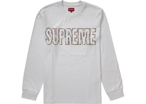 "Supreme ""International L/S Tee"" SS19 (White)"