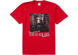 "Supreme ""King of New York Tee"" (Red)"