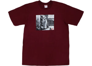 "Supreme ""Mike Kelley Hiding From India"" Tee (Burgundy)"