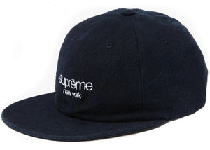 Supreme Napped Canvas Classic Logo 6-panel (Navy)
