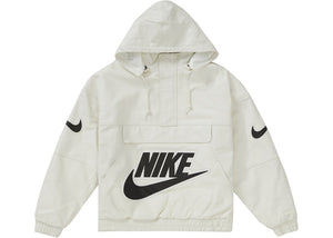"Supreme x Nike ""Leather Anorak"" (White)"