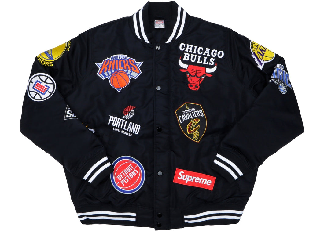 Supreme x Nike NBA Teams Warmup Jacket