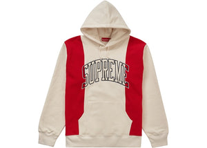 "Supreme ""Paneled Arc Hooded Sweatshirt"" (Natural)"