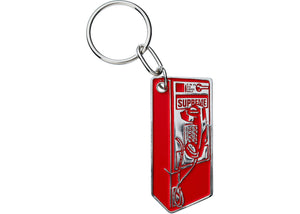 Supreme Payphone Keychain (Red)
