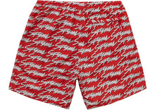 "Supreme ""Signature Script Logo Water Short"" (Red)"