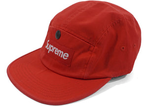 Supreme Snap Button Pocket Camp Cap (Red)