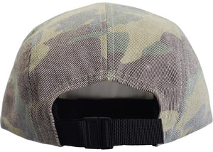 "Supreme ""Washed Out Camo Camp Cap"" (Woodland Camo)"