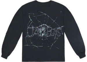 "Travis Scott Cactus Jack ""Cracked L/S T-Shirt"" (Black)"