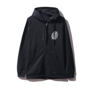 "Anti Social Social Club ""Blocked Logo Hoodie"" (Black)"