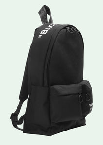 "Off-White ""Quote Backpack"" (Black)"