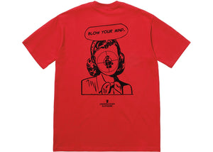 "Supreme x Undercover/Public Enemy ""Blow Your Mind"" Tee (Red)"