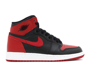 "AIR JORDAN 1 RETRO HIGH OG BG (GS) ""BANNED 2016 RELEASE"""