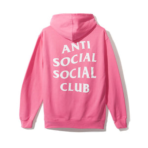 "Anti Social Social Club ""Dramatic Hoodie"" (Pink)"