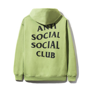 "Anti Social Social Club ""Flamingo Hoodie"" (Neon Green)"