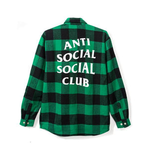 "Anti Social Social Club ""Frog"" Flannel"