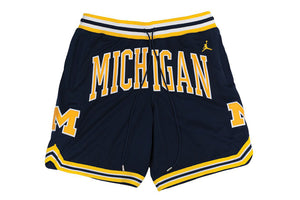 "Jordan x Just Don ""Michigan Shorts"""